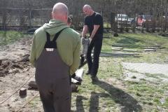 Arbeitseinsatz Tierheim Zossen 25.03.17