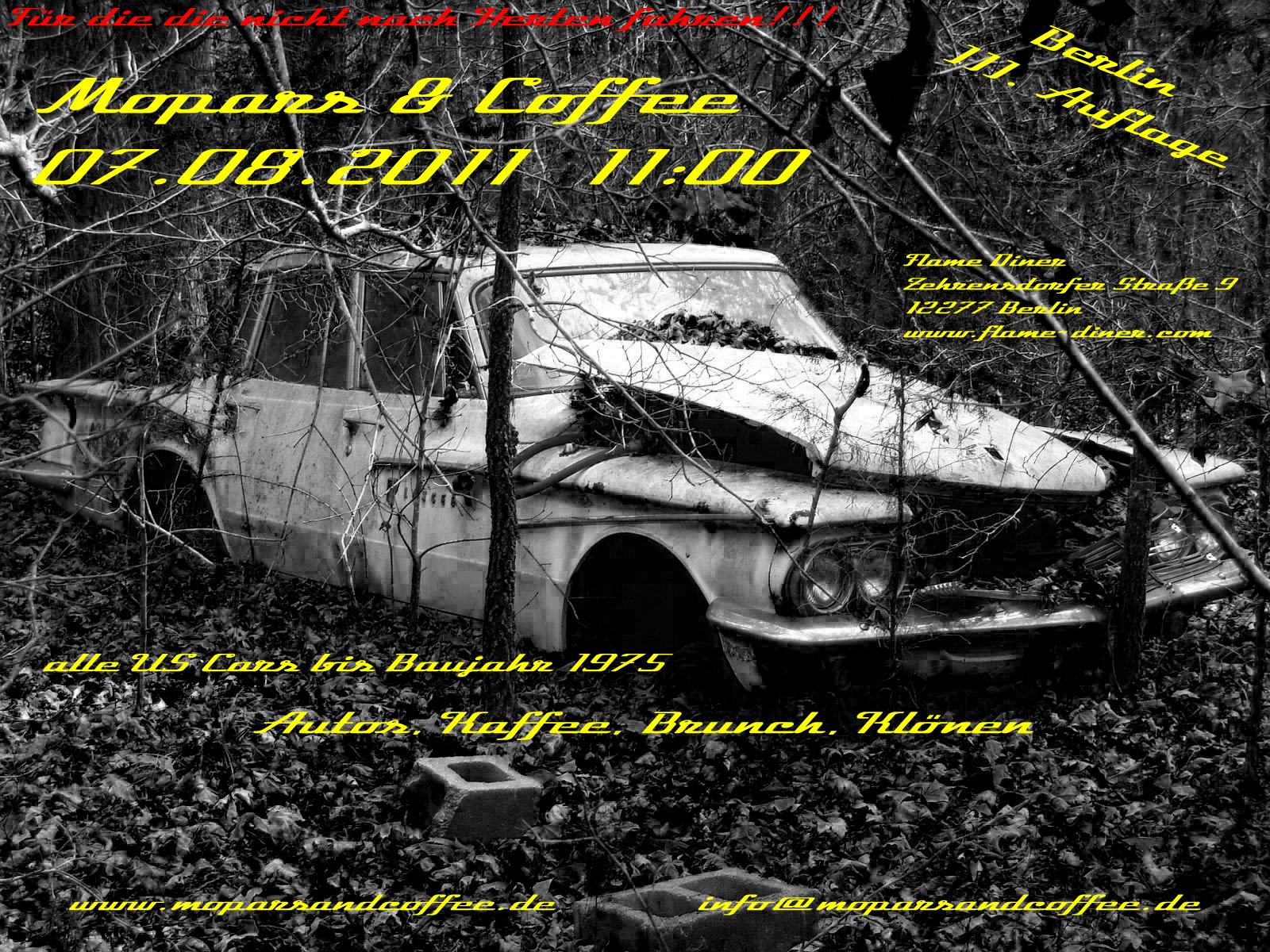 Mopars & Coffee Berlin III.Auflage 07.08.2011