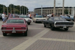 Mopars & Coffee & Friends Berlin - Ausfahrt 4.8.2013