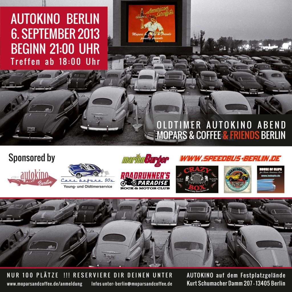 Autokinoflyer für´s www.